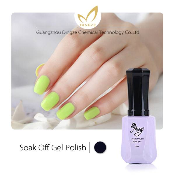 China supplier soak off UV nail gel polish