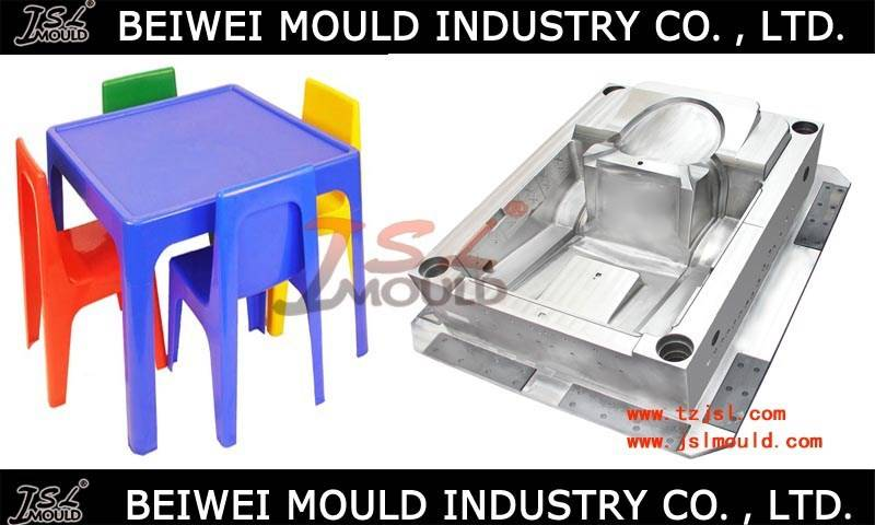 Customized Injection plastic Kids children table and chair mold