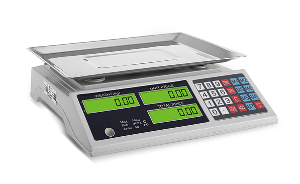 New ABS Plastic Digital Price Platform Scale 345245mm