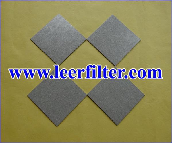Stainless Steel Powder Filter Sheet