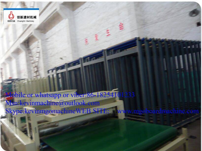 380V Mgo PU Sandwich Wall Panel Production Line