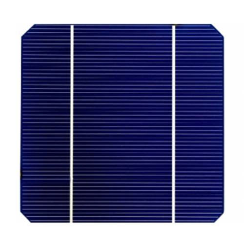 Sun Gold Power 50pcs 156x156 Monocrystalline Solar Cell Panel 4.2W 2 Busbar
