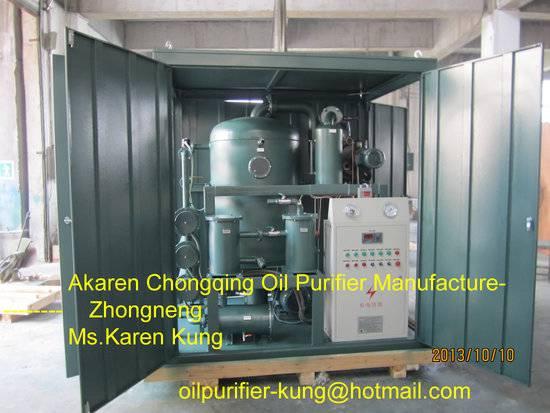 Power distribution Transformer Oil Purifier/ Transformer Drying machine