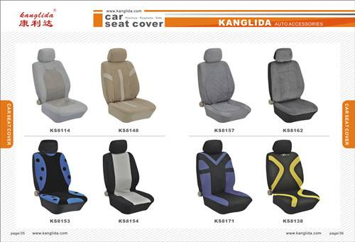 GM car seat covers Polyester