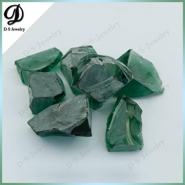 Tourmaline Green Nanosital Uncut Gemstone Rough