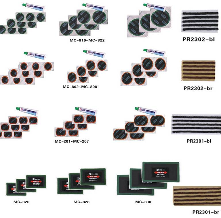tire cold patch,seal string,tyre patches,tire repair material
