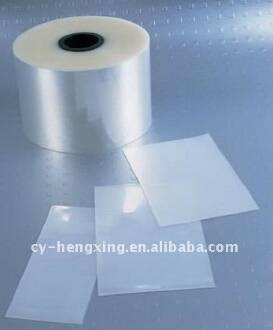 PP material outer film cover for dvd case