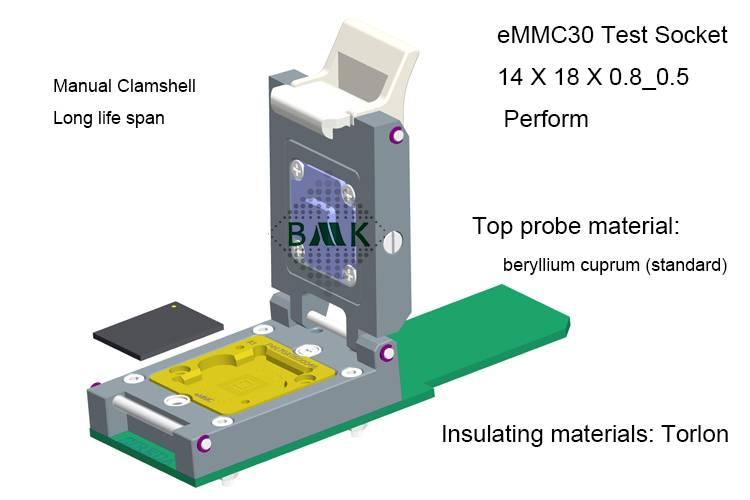 Nand Flash Memory Tester Apply to Samsung eMMC