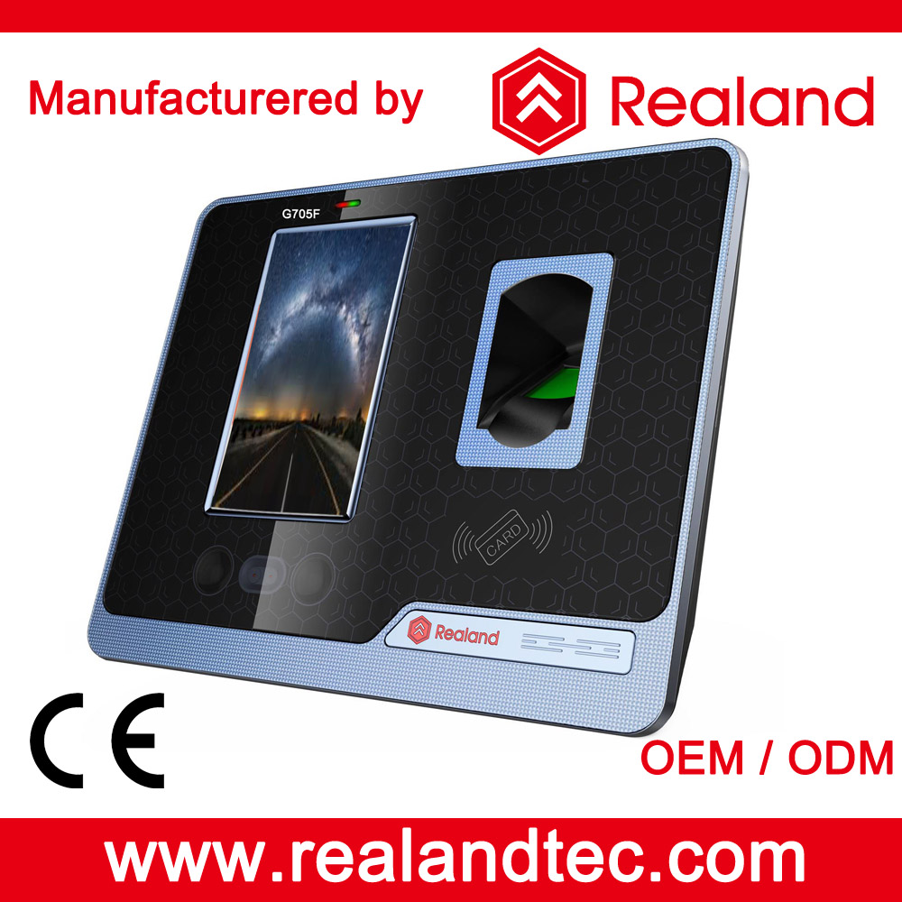 G505F touch screen face recognition door access control with time attendance