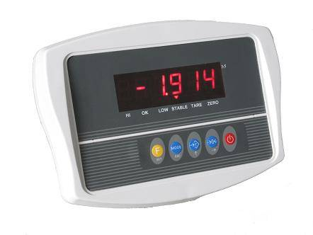 LED weighing indicator (plastic housing)
