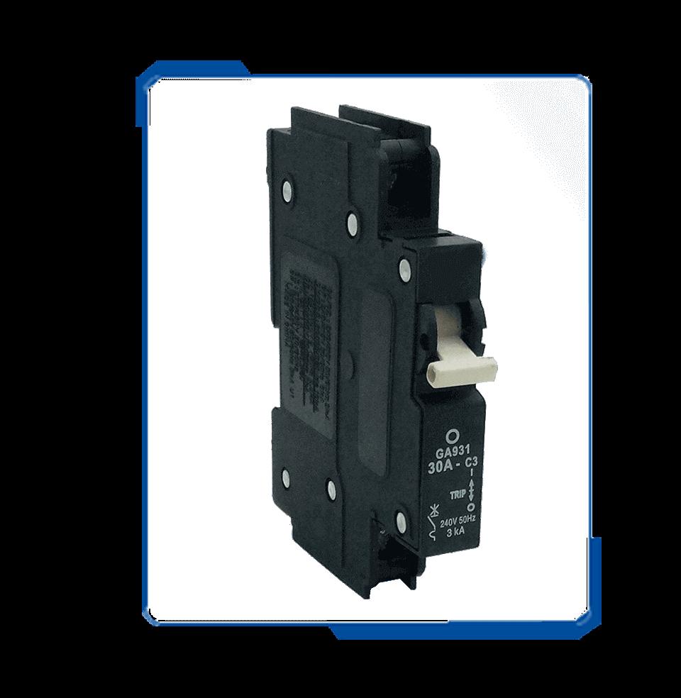 QA MCB type c Hydraulic single pole Circuit Breaker