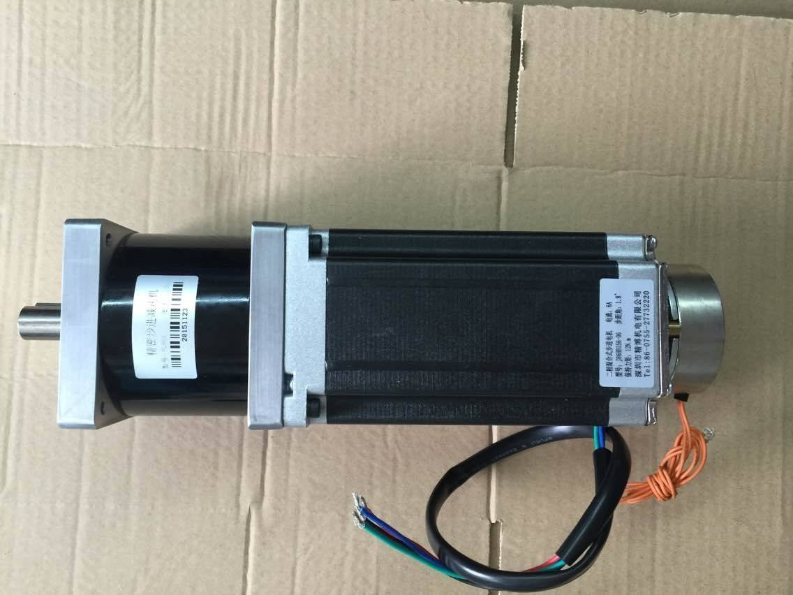 NEMA34 Planetary geared stepper motor with brake