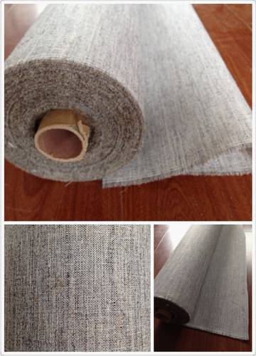 Fusible hair cloth interlining