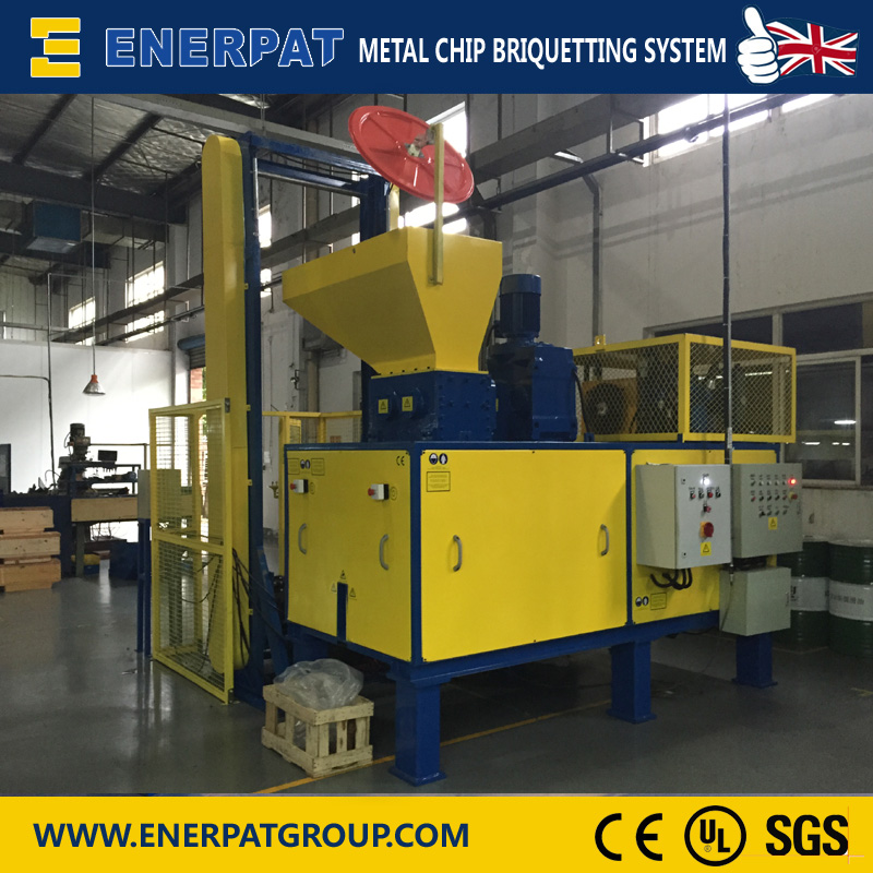 Horizontal Hydraulic Metal Turnings Briquetting Press with China Factory Price