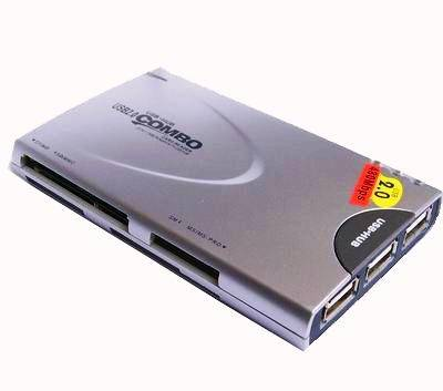 USB Combo(3 Port USB HUB+Card Reader)