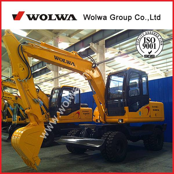 Wolwa supply Wheel hydraulic excavator DLS880-9A CE certificate