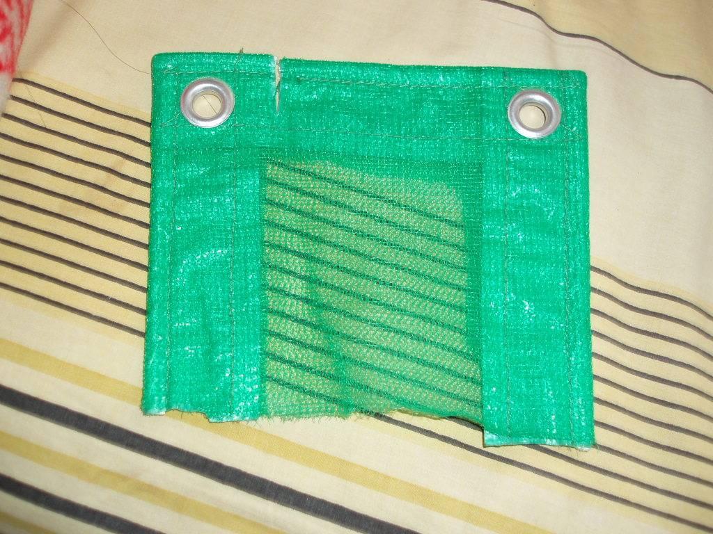 Heavy Duty Tarps and Mesh / mesh construction tarps