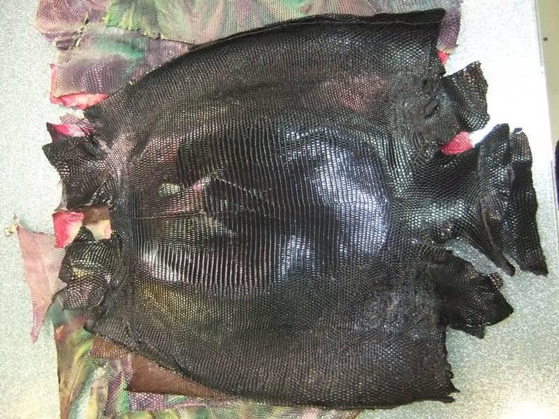 sell lizard skin leather