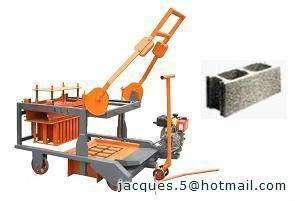 egg laying block machine for hollow blocks