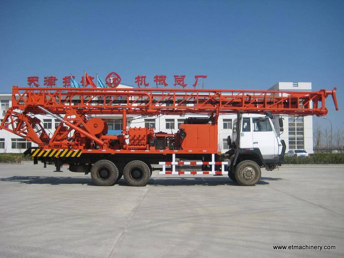 1000m truck mounted water well drilling rig