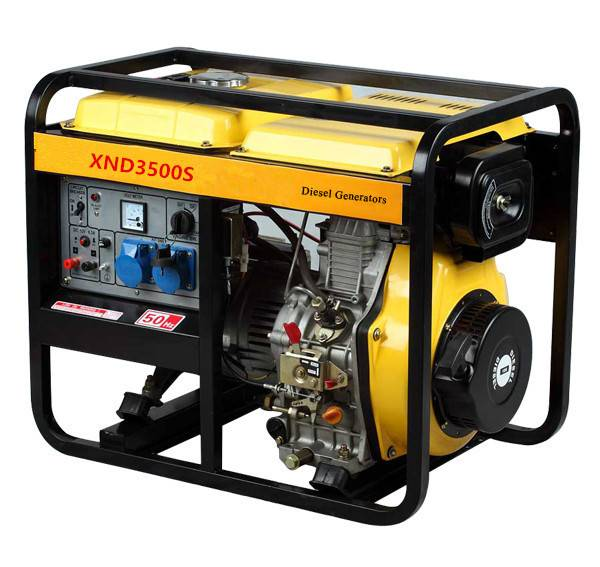 3KW Diesel generator with three-phase with high quality