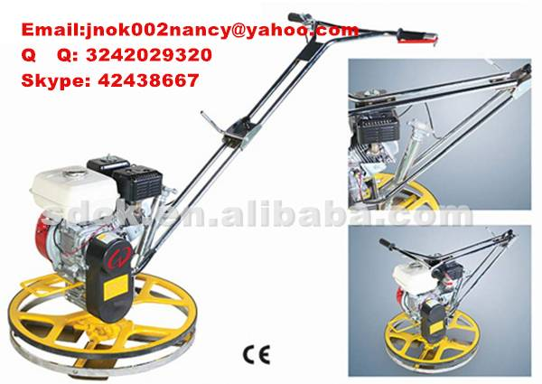 HOT SELLINGConcrete finishing trowel, Wheel polishing machine with best price.