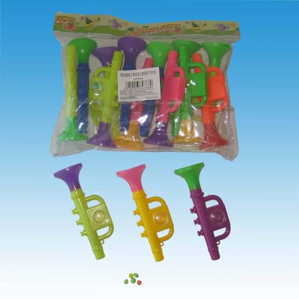YUT157 Bugle Toy Candy