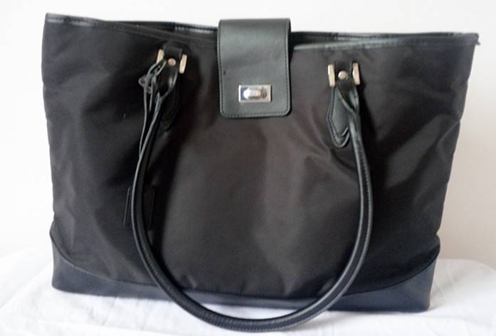 Sell Nylon Handbag with Leather trim