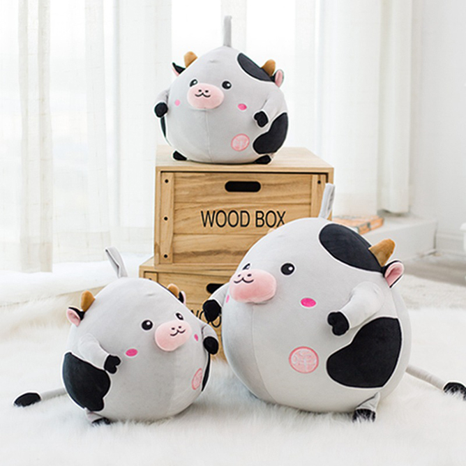 Cute cow doll pillow large sweet cow soft toys DS-CW008