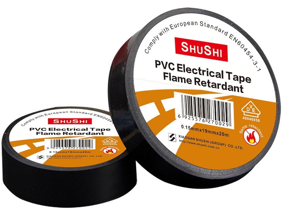 VDE Approval PVC Electrical Insulating tape