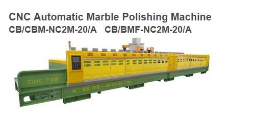CNC Automatic Marble Polishing Machine CB/CBM-NC2M-20/A & CB/BMF-NC2M-20/A