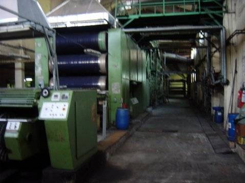 Slasher Indigo Dyeing Machine