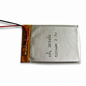 20g Lithium Polymer Battery for Electronic Toy