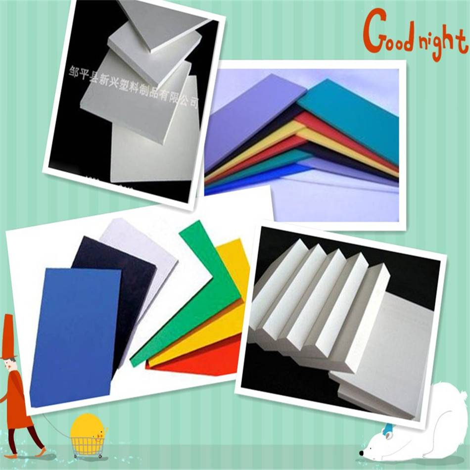 Chinese factory supply pvc foam sheets