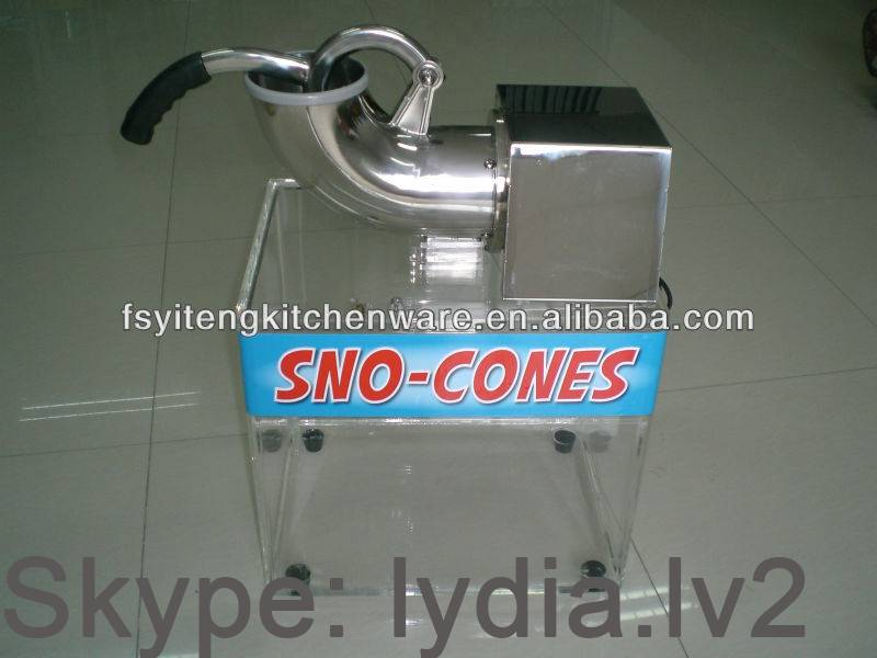 Snow Cone Machine Ice Crusher With Tank