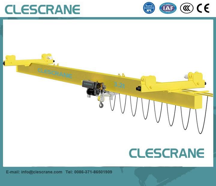 CHX Series Single Girder Suspension Bridge Crane with Wire Rope Hoist