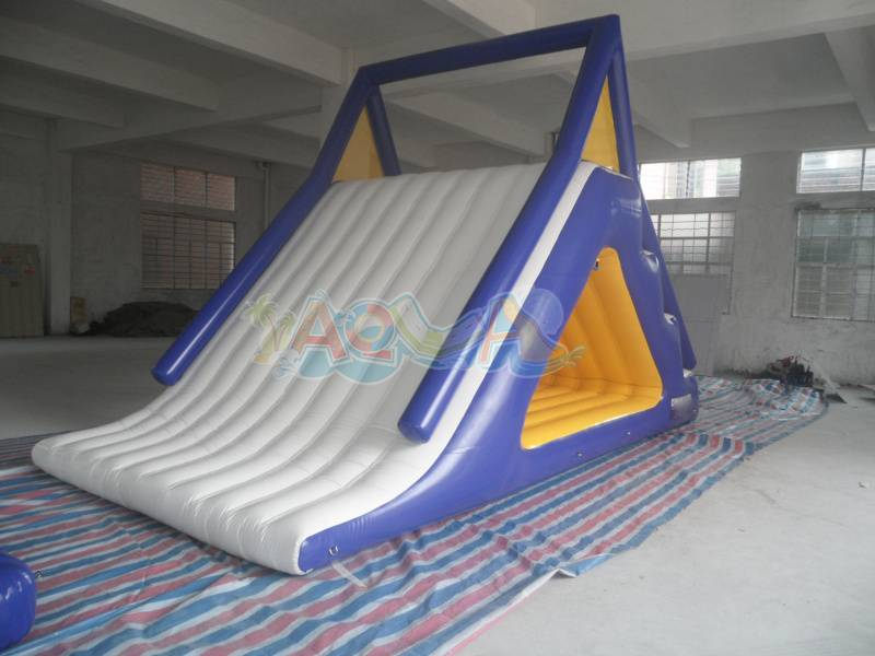 Inflatable Floating White Slide