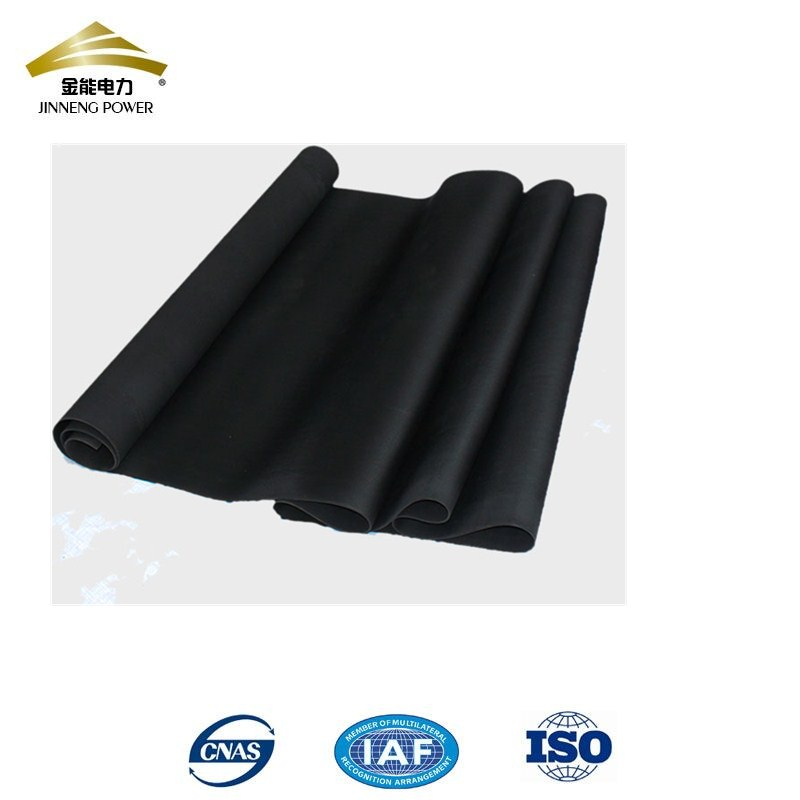black 8mm insulating rubber pad