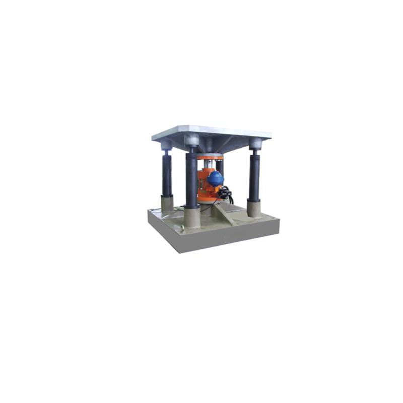 hydraulic vibration test system