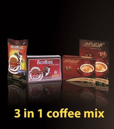Instant coffee mix 3in1 High quality