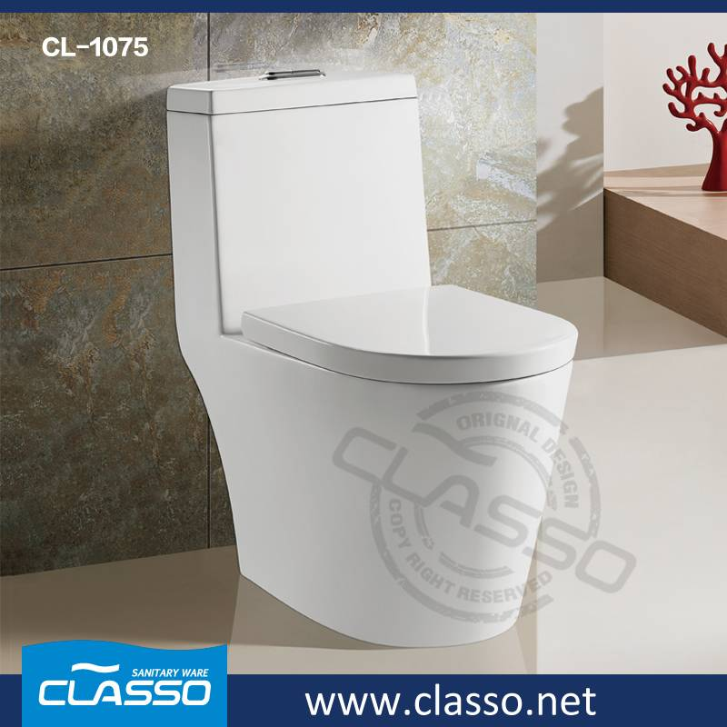 New design hotel WC washdown toilet one piece closet Turkish Brand Classo CL-1075