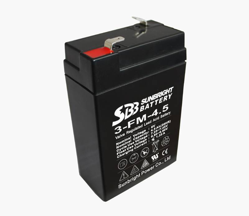 6V4.5AH electric scale battery