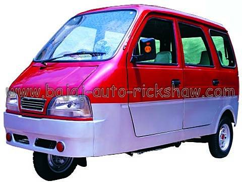Bajaj Auto Rickshaw three wheelers mini car motor tricycle BA200ZK-C