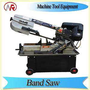 GZ-4018 CE approved good quality semi-automatic band saw cutting machine