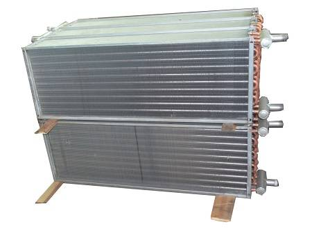 Copper Tube Plate Fin Heat Exchanger for Cooling System
