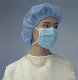 nonwoven medical safety disposal gown lab coat clip bouffant  doctor caps pp bed sheet pants slipper
