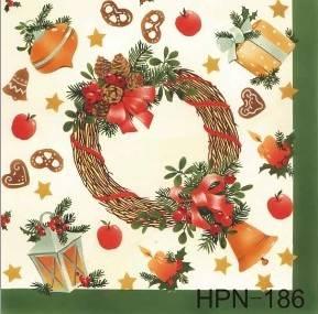 Hpn-186 Printed Paper Napkin