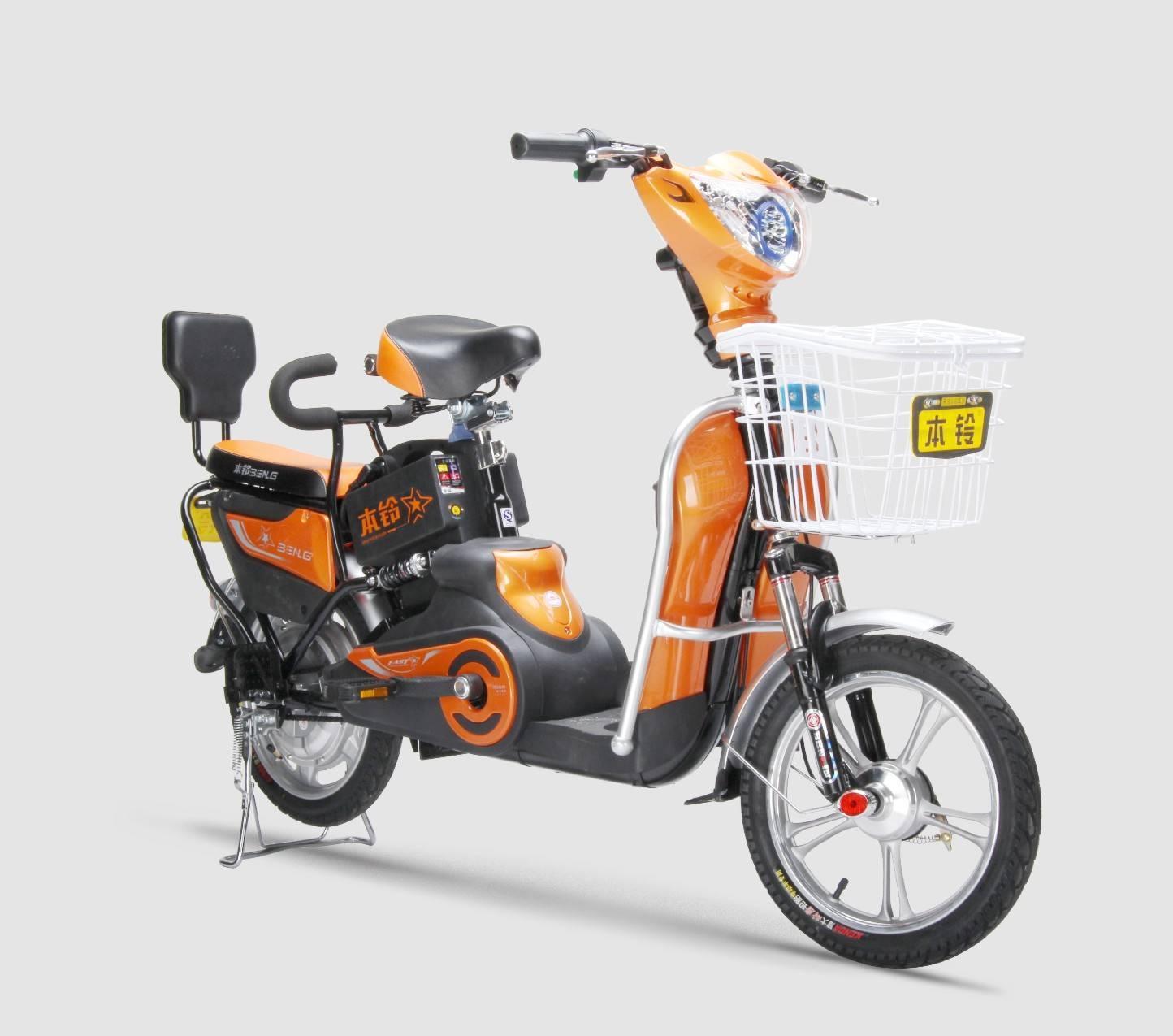 350W Lead-Acid ebike Bicycles electricas green bike rental bike