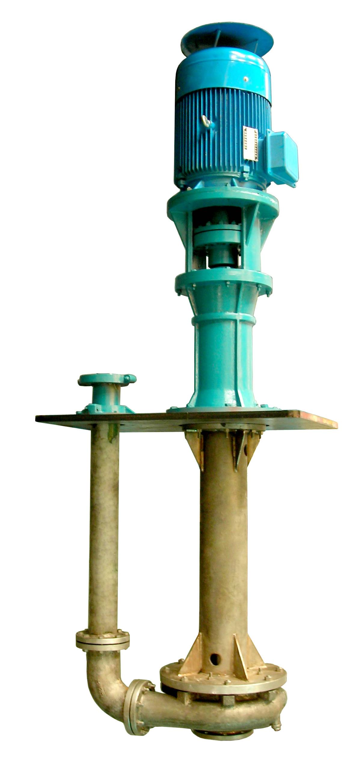 PLC series anti-corrosive and abrasive- proof vertical centrifugal pump