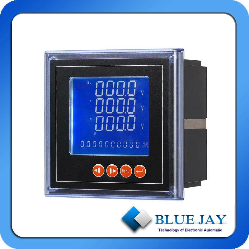 voltage, current, reactive power,active power 4 in 1 digital LED meter